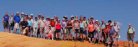 Provence Wandergruppe